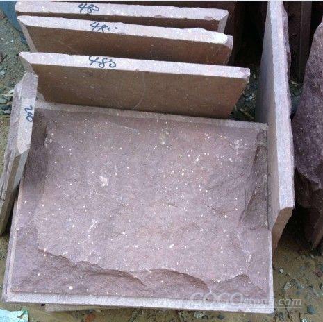 Quartzite Hunan Purple Gold Red