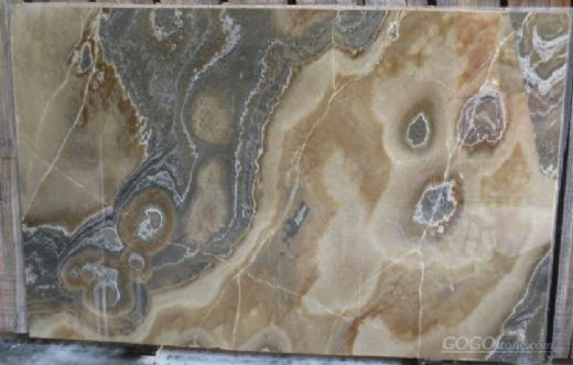 Frappuccino Onyx Slabs