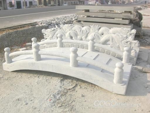 Natural White Marble Bridge