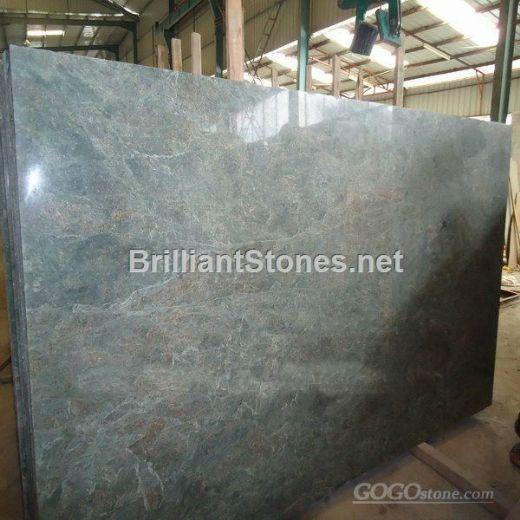 China Seawave Green Granite Slab