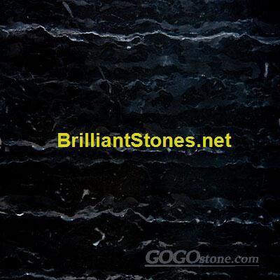 Roman Black Sandal Marble