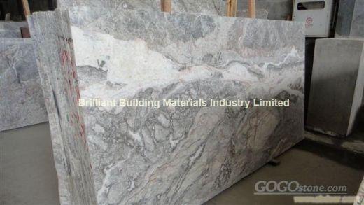 Fior del Pesco Marble Slabs, Italy Grey Marble Slabs