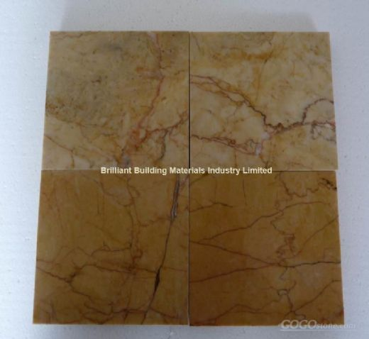 China Guang Yellow Marble Tiles, China Crema Valencia Marble Tiles