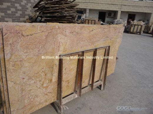 China Guang Yellow Marble Slab,Natural Yellow Marble Slab