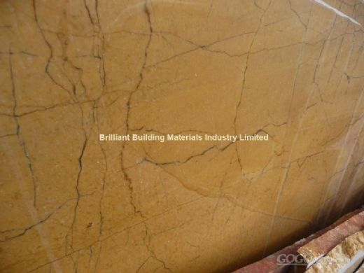 China Spider Yellow Marble Slab,Natural Yellow Marble Slab