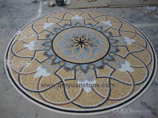 mosaic pattern flooring tile
