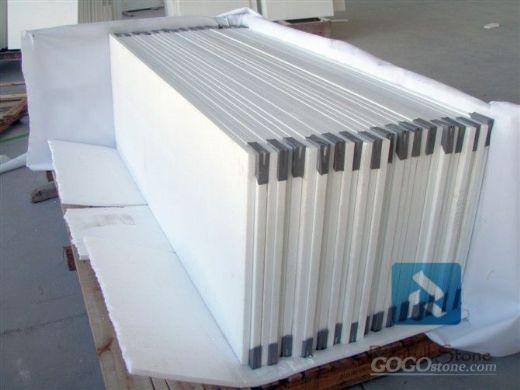 pure white nano glass