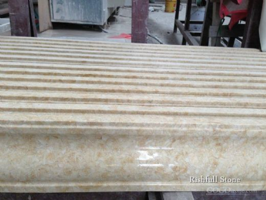 beige marble border