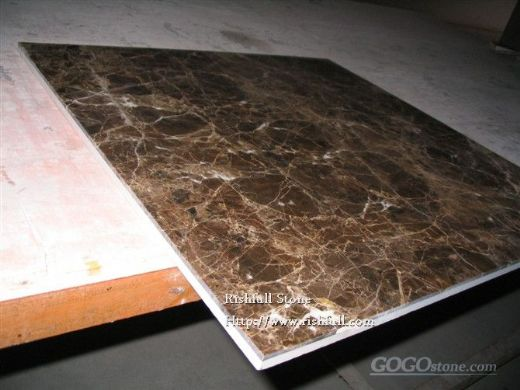 dark emperador composite tile