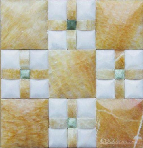 onyx marble mosaic