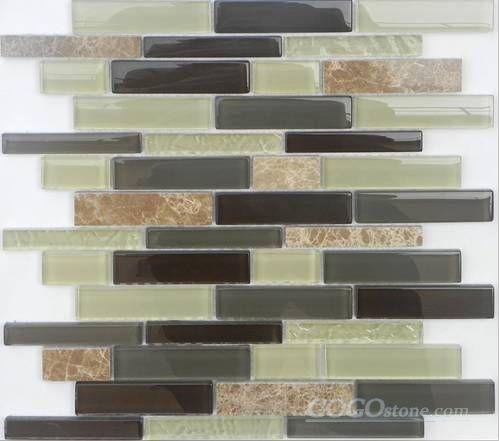 Glass Stone Mosaic Tile (SF2310)