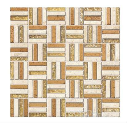 Glass Stone Mosaic Tile (SFH9002)