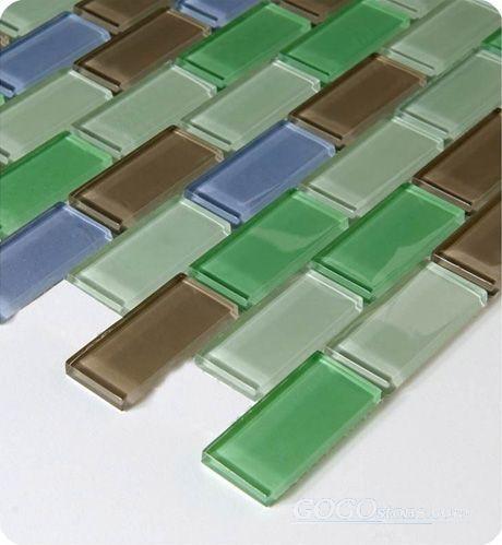 Glass Mosaic Tile (SSF23035)