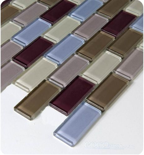 Glass Mosaic Tile (SSF23034)