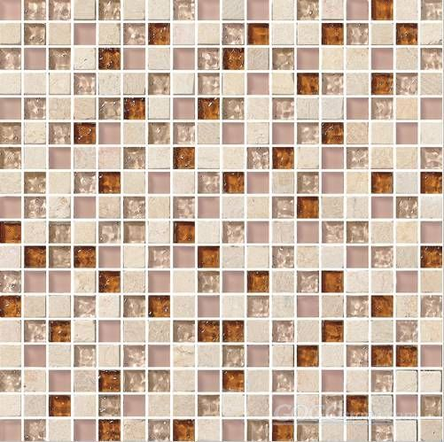 Crystal Mix Stone Mosaic Tile (SF15002)