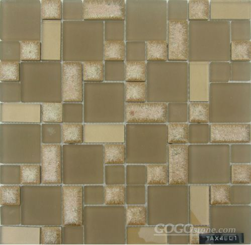 Crystal Mix Ceramic Mosaic Tiles (SAX4801)
