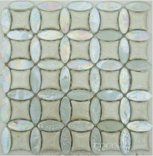 Crystal Mix Ceramic Mosaic Tiles (SS5001)