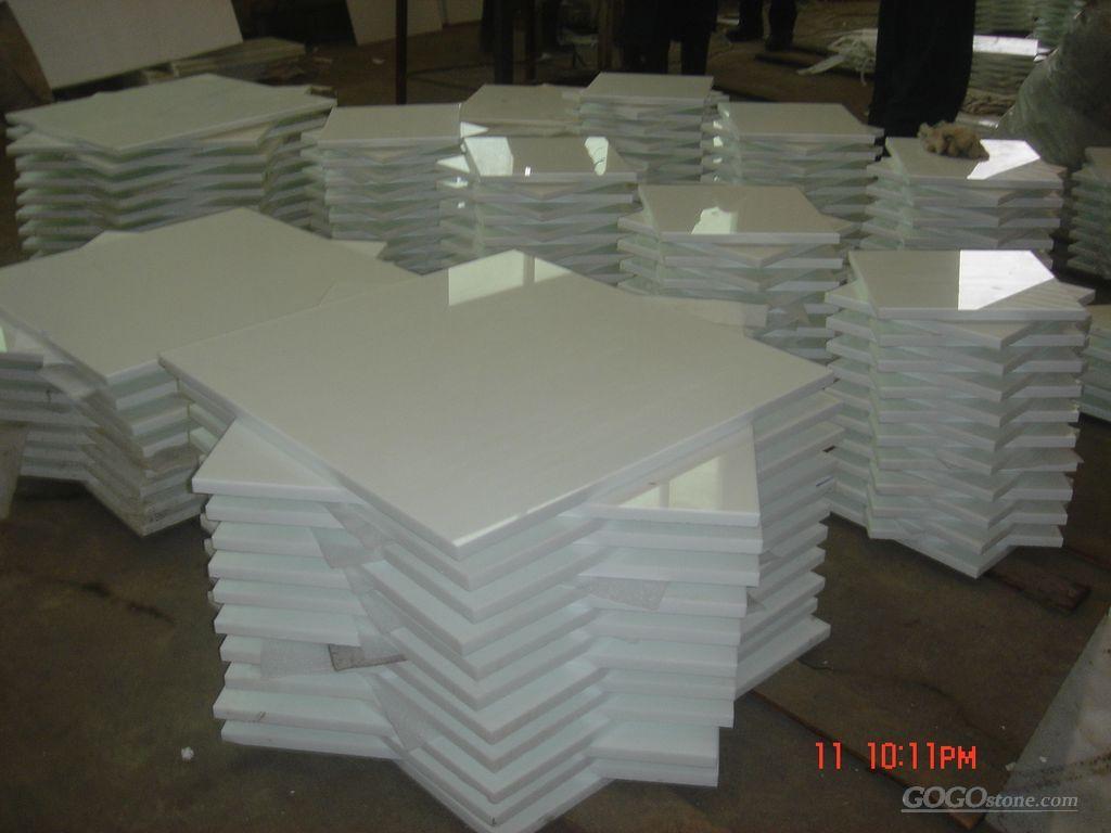 To Sell Crystallized Tile Full White