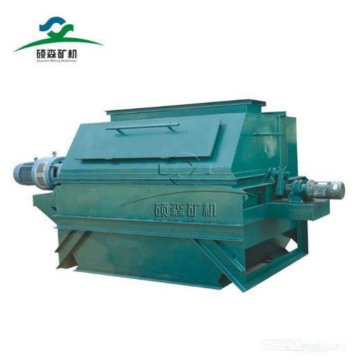 dry magnetic drum separator