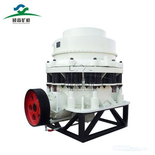 how does a spring cone crusher work