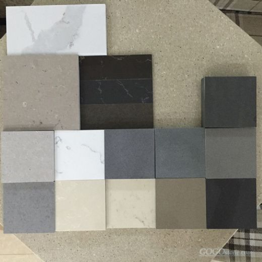 Grey Color Engineered Quartz Stone
