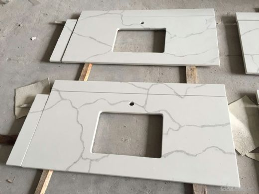China Aritificial Quartz Stone Slab for Bathroom Vanity Top