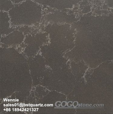 Marble Imitation Artificial Quartz Slab Solid Surface for Kitchen Bathroom and Comercial Sector