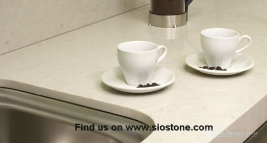 Engineered Quartz Stone Surface Available for 2/3cm Thick
