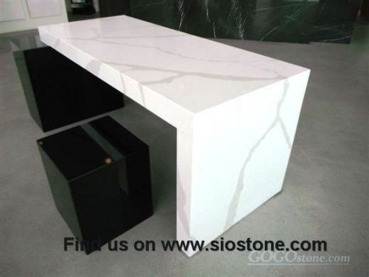 Calacatta Artificial Quartz Solid Surface