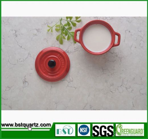 Artificial Quartz Stone Multicolor Countertop, Environmental Quartz Countertops
