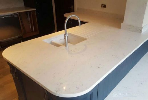Quartz Stone Bench Top, Quartz Stone Dining Table Top