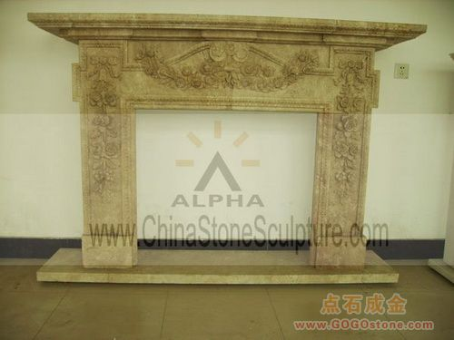 To Sell Travertine Stone Fireplace Surrounds