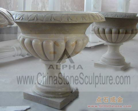 To Sell Natural Stone Flowerpots