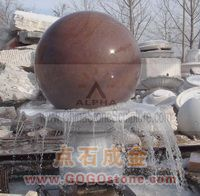 To Sell Stone Fengshui Ball Fountains