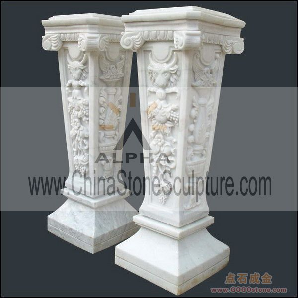 To Sell Marble Columns