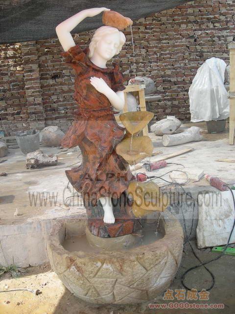 To Sell Stone Statue Water Fountains