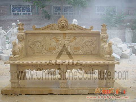 To Sell Marble Garden Benches