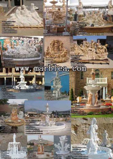 sculpture fountains