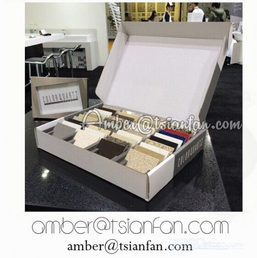 Quartz Stone Sample Box