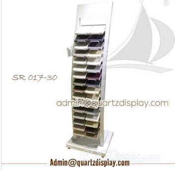 Marble and Granite Sample Display Stand