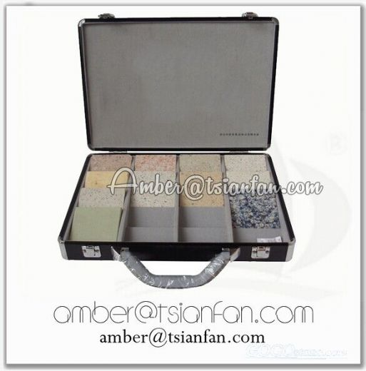 Stone Sample Display Suitcase