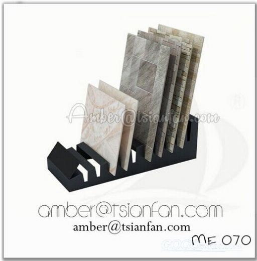 Ceramic Tile Display Rack , Portable Mosaic Tile Display Rack