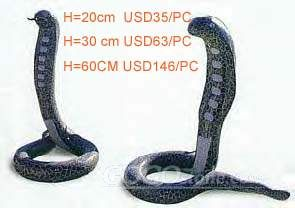 To Sell serpent sculpture