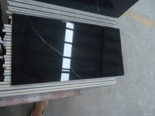 Black Marquina Marble composite tile