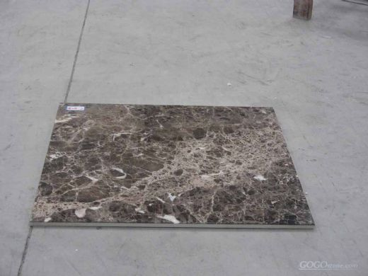 Dark Emperador Marble composite tile