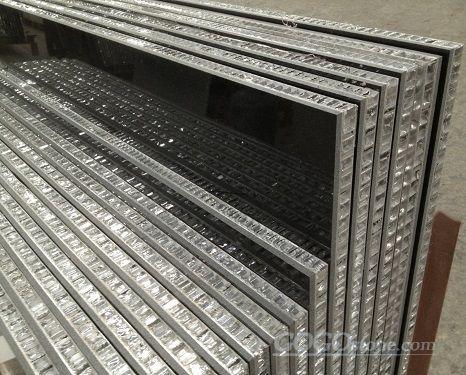 Facade Wall Cladding - Honeycomb Stone Panels