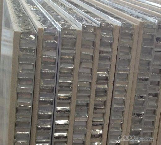 Curtain Wall - Stone Honeycomb Panels