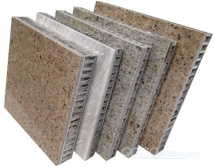 Curtain Wall - Stone Honeycomb Panel