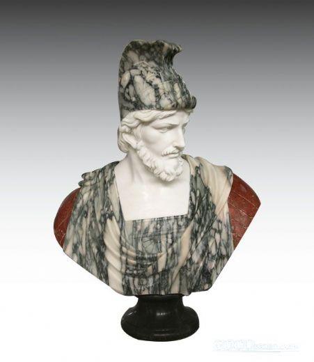 stone bust,sculpture