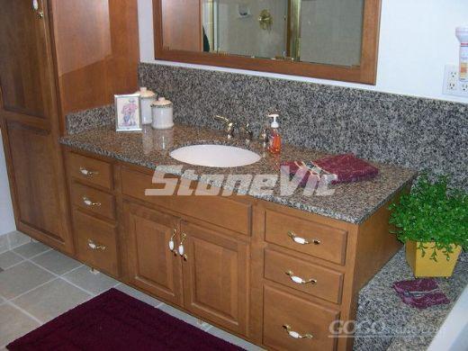 Aluminun polymer laminated granite-vanity application